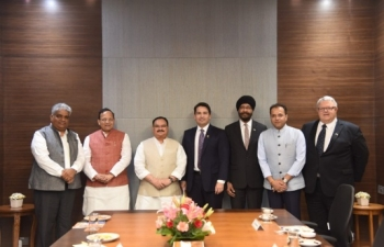Visit of Mr. Simon Bridges, Leader of Opposition of New Zealand to India