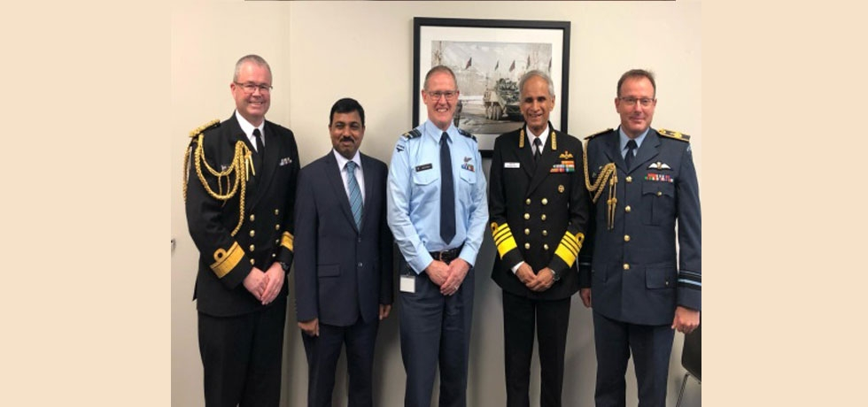 Visit of Admiral Karambir Singh, Indian Navy Chief to New Zealand after a gap of 9 years