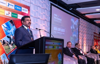 Glimpses of 6th India-New Zealand Business Submit organised by INZBC & FICCI in association with High Commission of India in Auckland on 14th October 2019