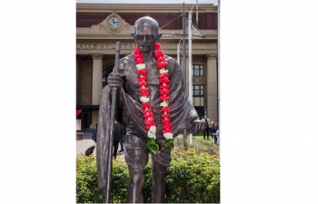Celebration of 151st Birth Anniversary of Mahatma Gandhi in Wellington on 2nd October 2020